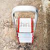 Алюминиевая стремянка, 5 ступеней, 4+1, до 150 кг, Deca, фото 3