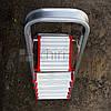 Алюминиевая стремянка, 6 ступеней, 5+1, до 150 кг, Deca, фото 4