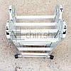 Алюминиевая лестница трансформер 4 секции по 3 ступени Moller MR 70101, фото 6