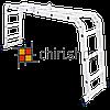 Алюминиевая лестница трансформер 4 секции по 3 ступени Moller MR 70101, фото 3