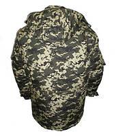 Куртка утеплена синтепоном + мех темный пиксель, светлый и темный дубок.