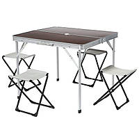 Стол и стулья раскладные HXPT-8833-A N11028295