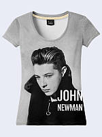 Женсая футболка Singer John Newman