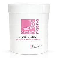 Крем с протеинами молока и шелка Dott.Solari Rigena Milk & Silk Cream 1000 ml