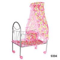 Кровать для кукол Melogo 9394  с балдахином