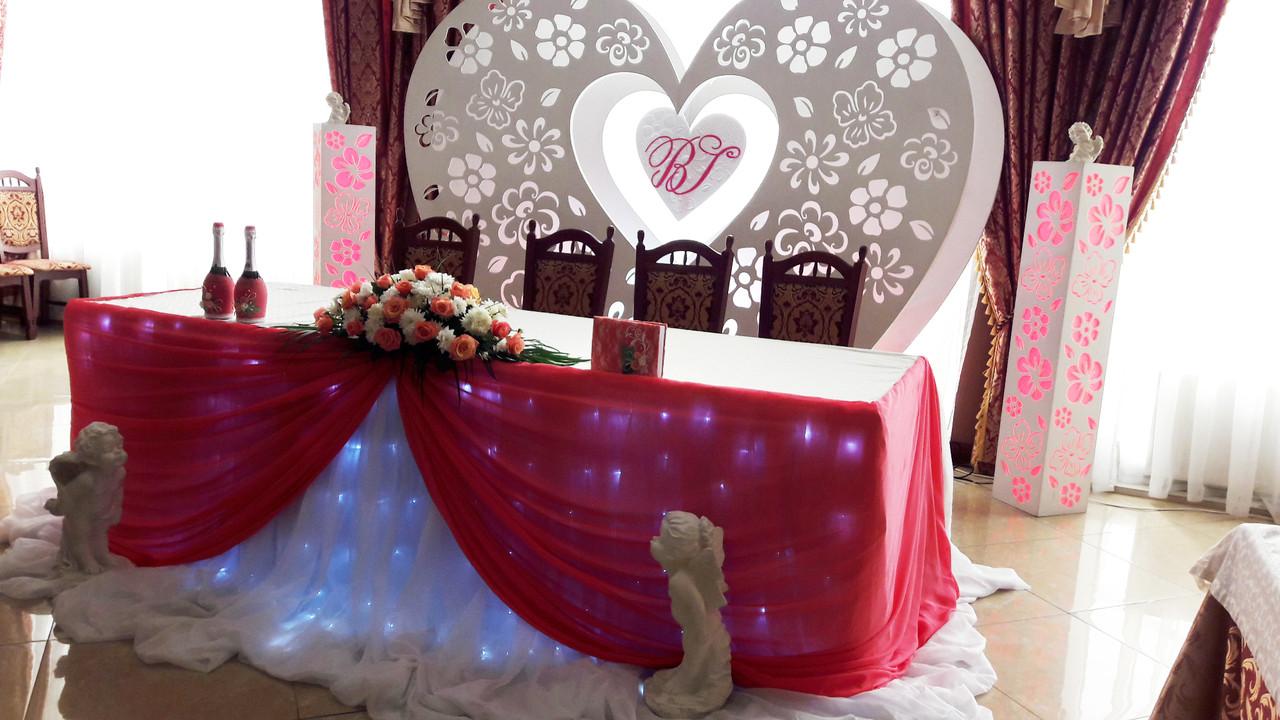 Ажурное сердце – волшебный и неповторимый декор для вашей свадьбы