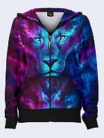 Женское худи Neon lion