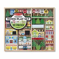 Деревянный набор Город Melissa&Doug MD14796