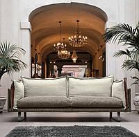 Стильный современный диван с контрастными подушками JAZZ фабрика META DESIGN