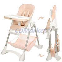 Bambi Акция! Детский стульчик для кормления Bambi M 3569-13. Скидка 4% на товары для младенцев при покупке стульчика! Спешите, количество товара