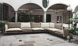 Стильный современный диван с контрастными подушками JAZZ фабрика META DESIGN, фото 6