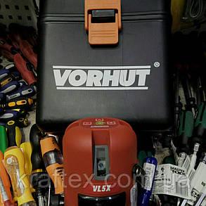 Лазерный нивелир в кейсе VORHUT VL5X 34-205 (5 плоскостей), фото 2