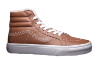 Кеды Vans High-top Classic Brown С МЕХОМ
