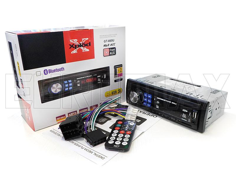 Автомагнитола MP3 ISO GT-660U