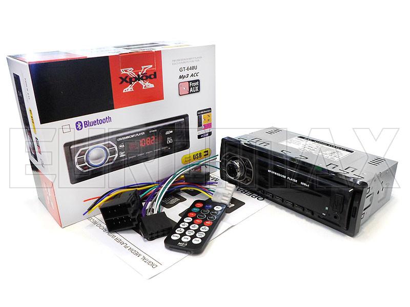 Автомагнитола MP3 ISO GT-640U