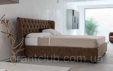 Итальянская классическая кровать в ткани HYPNOS фабрика META DESIGN
