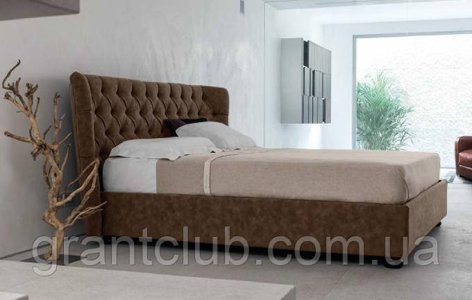 Итальянская классическая кровать в ткани HYPNOS фабрика META