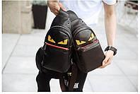Мужская кожаная сумка. Модель 63338, фото 3