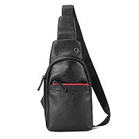 Мужская кожаная сумка. Модель 63338, фото 5
