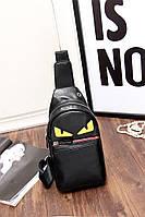 Мужская кожаная сумка. Модель 63338, фото 10