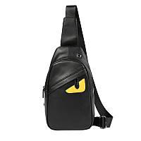 Мужская кожаная сумка. Модель 63338, фото 4