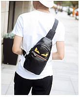 Мужская кожаная сумка. Модель 63338, фото 7