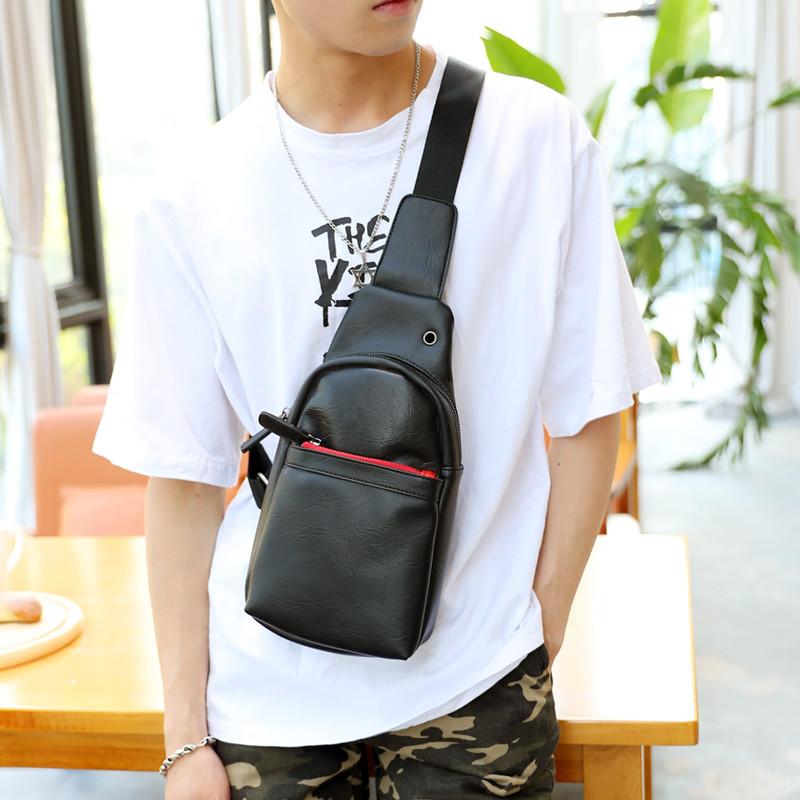 Мужская кожаная сумка. Модель 63338