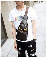 Мужская кожаная сумка. Модель 63338, фото 8