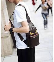 Мужская кожаная сумка. Модель 63338, фото 9