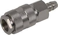 Быстроразъемное соединение с клапаном под шланг 10мм