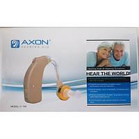 Заушный слуховой аппарат аккумуляторный Axon C-108 с зарядным устройством