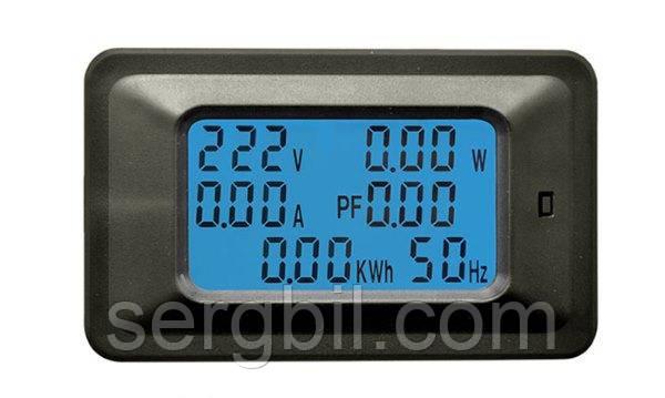 Измеритель параметров тока, ватметр AC 5кВт 220В 20А