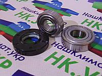 Ремкомплект для стиральной машины samsung, Подшипники SKF 6203 - 6204, и сальник 25*50.55*10/12 оригинал