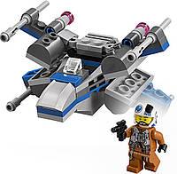 Конструктор LEGO Star Wars  Лего звездные войны Истребитель Повстанцев Resistance X-Wing Fighter 75125