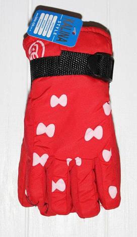 Подростковые теплые красивые перчатки рукавички, фото 2
