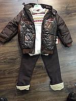 Костюм для мальчиков, зимний, куртка и штаны