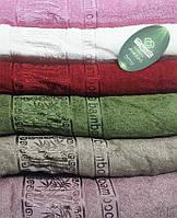 Упаковка 6шт - полотенца бамбуковые 70х140 Bamboo Vip 2dolfins