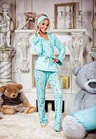 Женская стильная пижама Повязка  на  голову  в  комплекте..