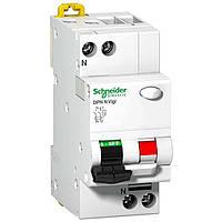 Диференційний автомат Schneider Electric A9D31625 DPN N VIGI 6кА 25А C 30мА