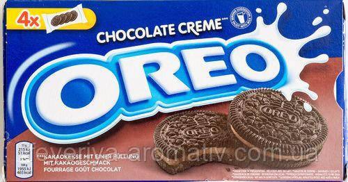 Печенье шоколадное Oreo Chocolate creme 176г (Швейцария)
