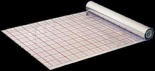 Пленка для теплого пола с разметкой 50 метров