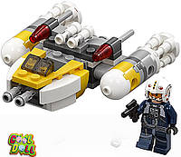 Конструктор LEGO Star Wars Y-Wing Microfighter Лего истребитель  75162