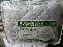 Зимнее бамбуковое одеяло евро размер, фото 2