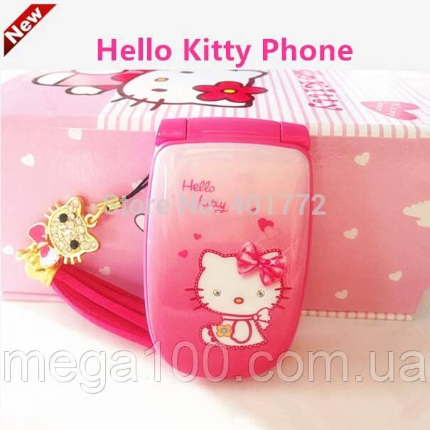 Мобильный детский телефон hello Kitty W88 скоро в наличии
