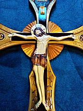 """Хрест """"Розп'яття"""" ручної роботи, фото 2"""