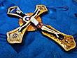 """Хрест """"Розп'яття"""" ручної роботи, фото 3"""
