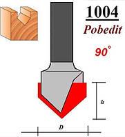Фреза по дереву Pobedit 1004 D13*11 мм (ножка 8мм)