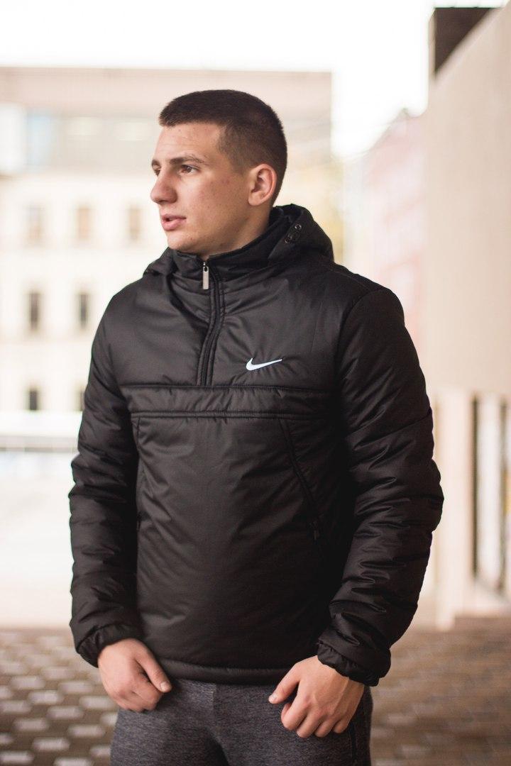 Мужская куртка Nike Black Осень-Зима