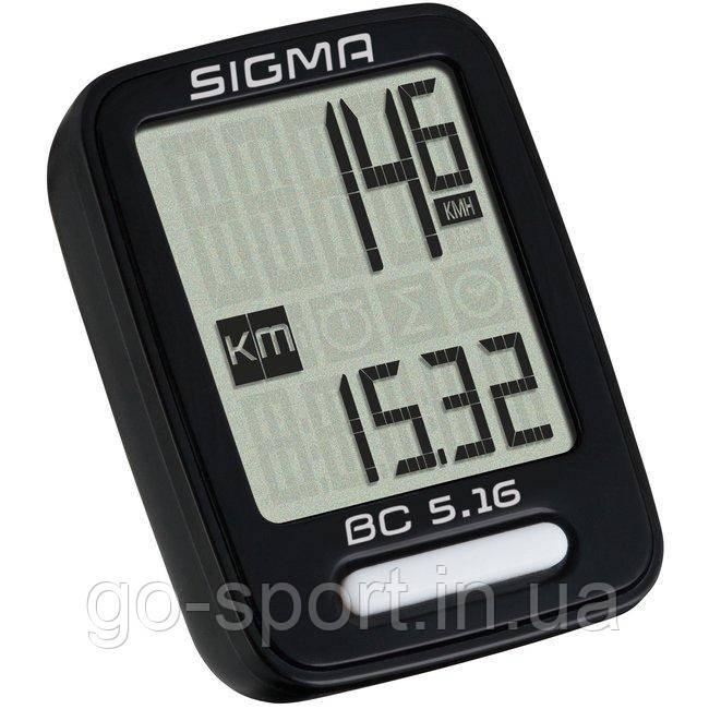 Велокомпьютер Sigma Sport BC 5.16