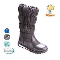 Сапоги зимние на девочку, детская подростковая зимняя обувь ТомМ Размеры 31 -36